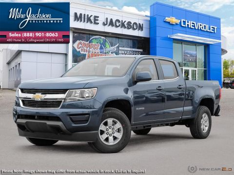 New 2020 Chevrolet Colorado 4WD Work Truck 4WD Crew Cab Pickup