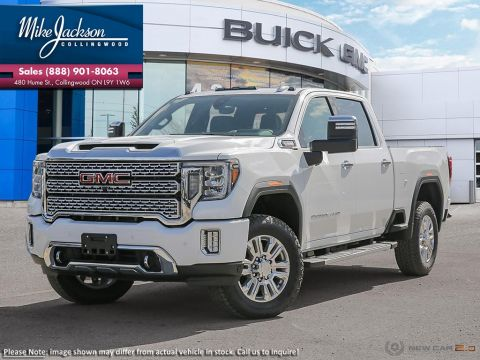 New 2020 GMC Sierra 3500HD Denali 4WD Crew Cab Pickup