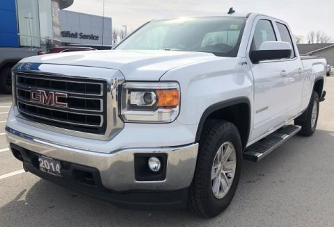 Pre-Owned 2014 GMC Sierra 1500 SLE 4WD DBL Cab Pickup