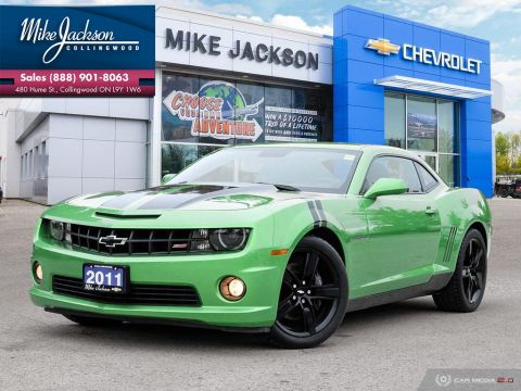 Pre-Owned 2011 Chevrolet Camaro 2SS RWD 2dr Car