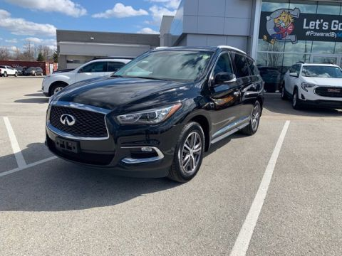 Pre-Owned 2017 INFINITI QX60 AWD Sport Utility